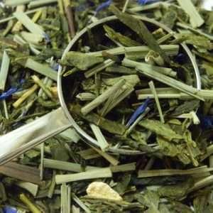 Té Verde Ginseng Jengibre biológico-0