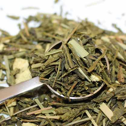 Ginger Tea biológico - Té verde con jengibre-0