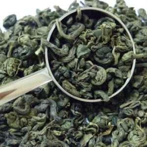 té verde Gunpowder biológico -0