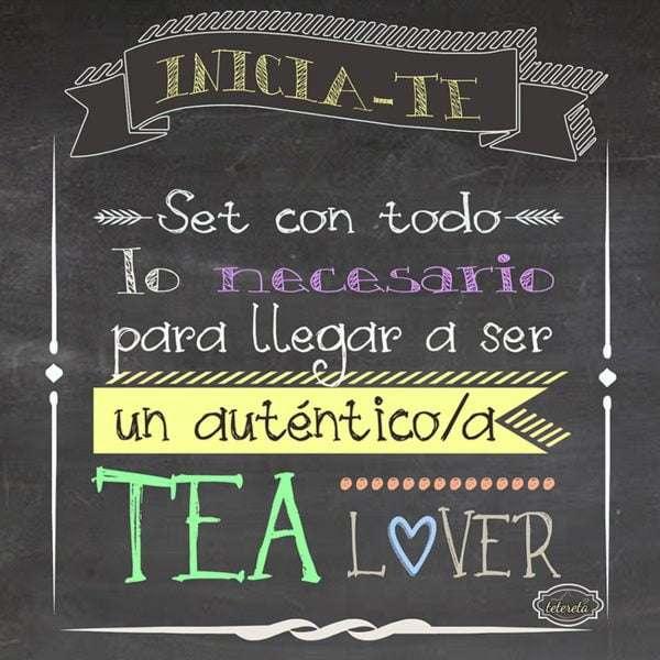 Pack de té Inicia-té Tea Lover-203