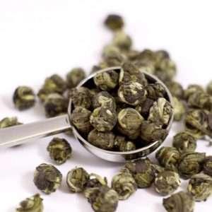té verde Perlas de Jazmín biológico-0