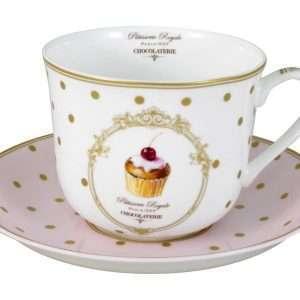 """Taza de té """"Patisserie Royale""""-0"""