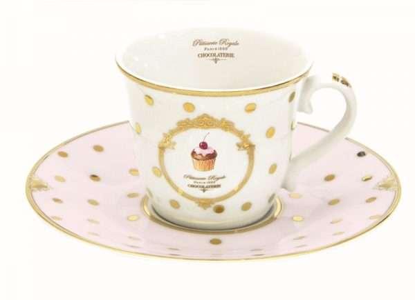 """Taza de té """"Patisserie Royale""""-790"""