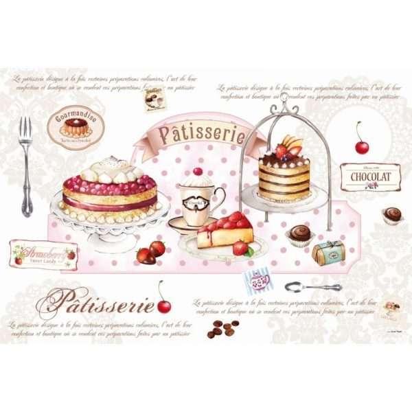 """Taza de té """"Patisserie Royale""""-788"""