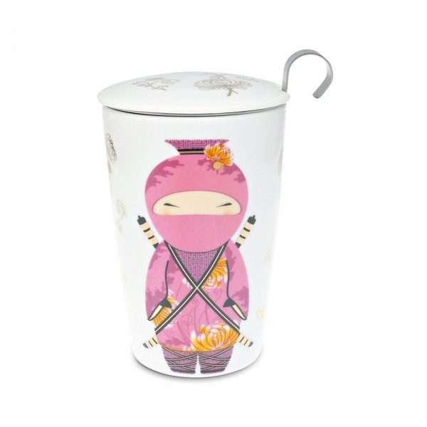 Taza Ninja Rosa-0