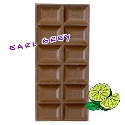 Tableta de chocolate artesano - Con Té Earl Grey-0