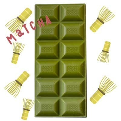 Tableta de chocolate artesano - Matcha-1059