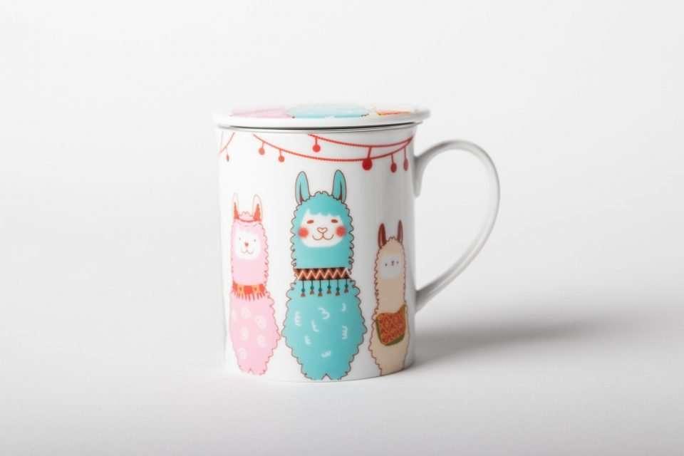 Taza para té llama