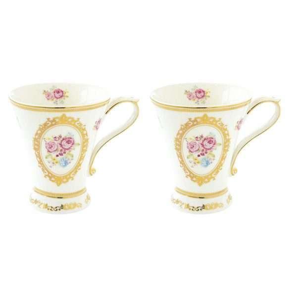 Set 2 tazas Vintage Maria Antonieta-0