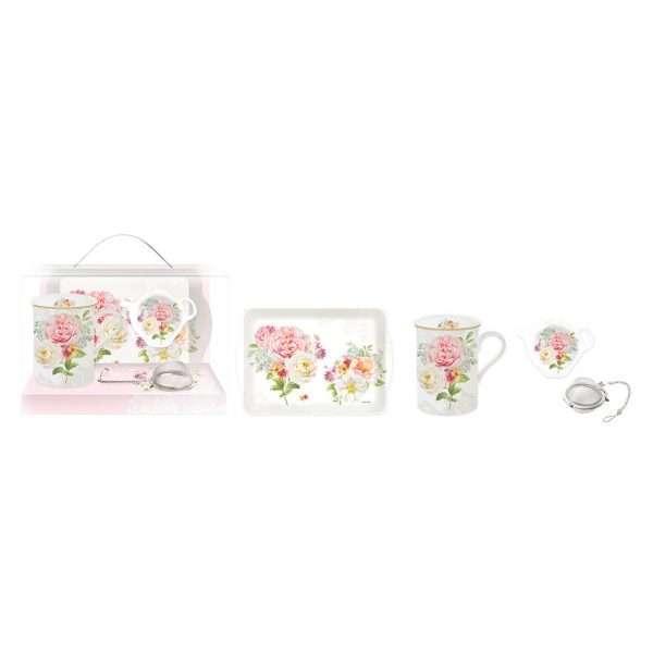 Set Taza, bandeja y filtro Tea Garden-0