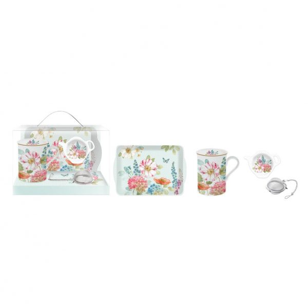 Set Taza, bandeja y filtro English Meadow-0