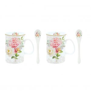 Set 2 tazas Vintage English Garden-0