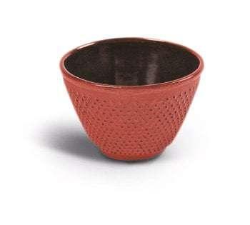 Vaso hierro fundido rojo-0