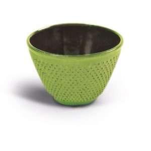 Vaso hierro fundido verde -0