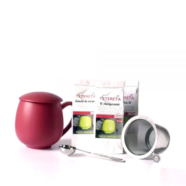 cesta de té detox