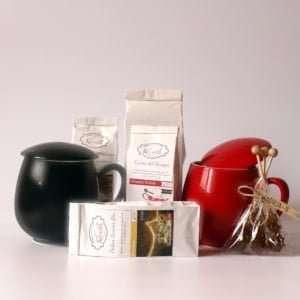 Cesta de té para regalar a dos personas