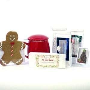 cesta de navidad tés