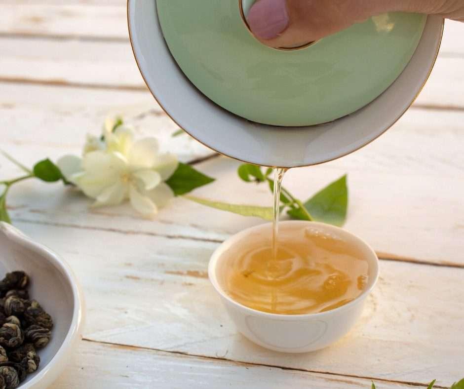 perlas de jazmin, el té de la belleza