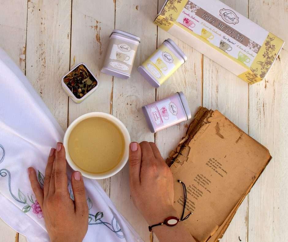Pack de tés gallegos