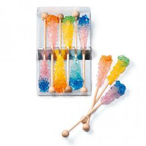 sticks de azucar de colores
