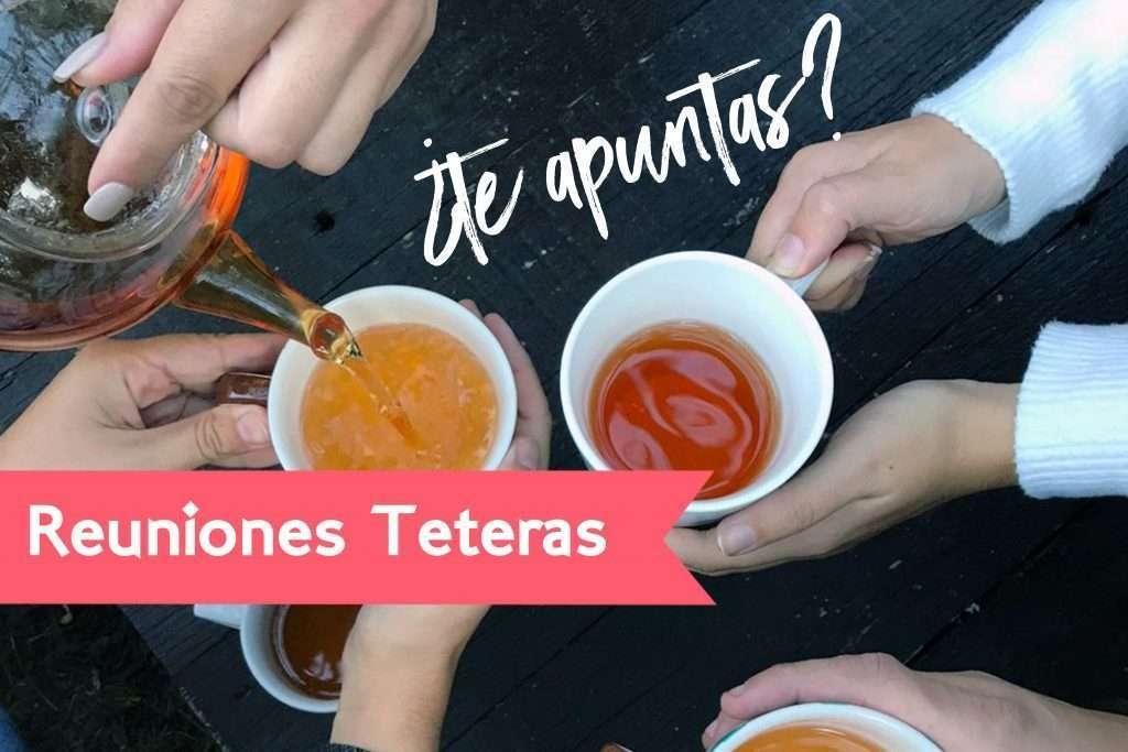 reuniones teteras en Tetereta con nuestra sumiller de té
