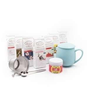 cesta de té belleza
